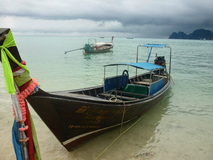 Fishermans boat Thailand