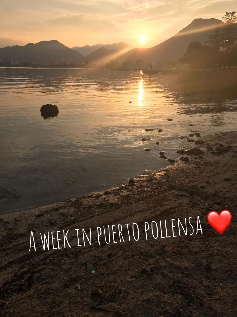 Puerto Pollensa sunset