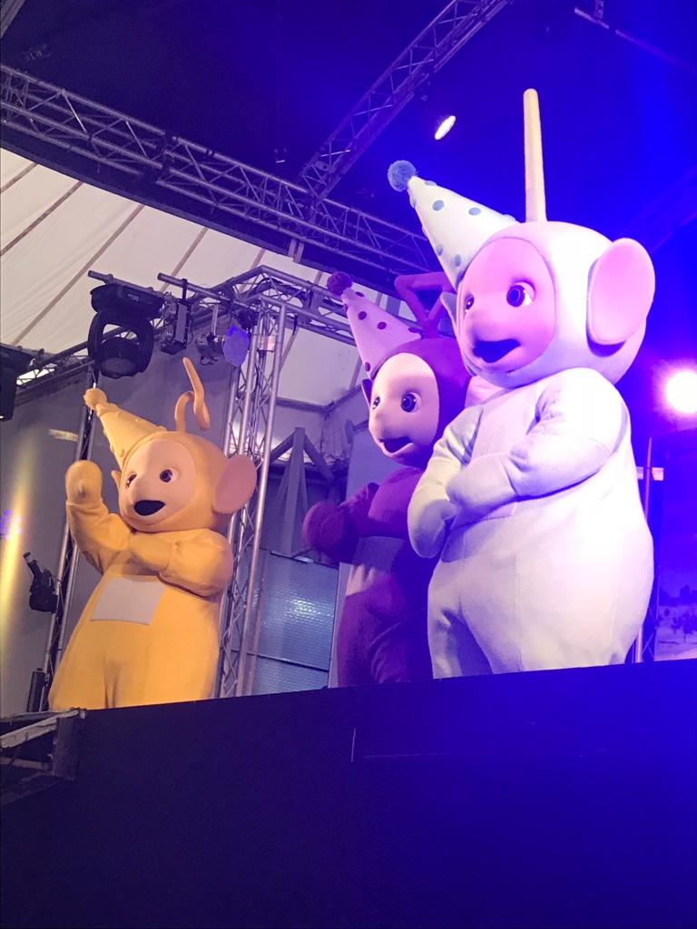Teletubbies at butlins