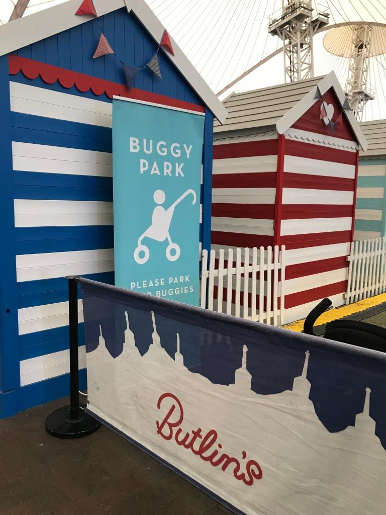 Butlins buggy park