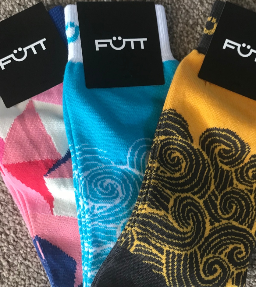 Colourful socks for men by Futt