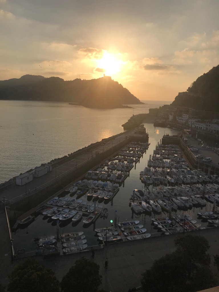 Sunset in San Sebastián